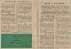 Программка к матчу СКА Карпаты (Львов, СССР)-Заря (Ворошиловград, СССР)
