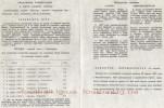 Программка к матчу Шахтер (Павлоград, СССР)-Заря (Ворошиловград, СССР)