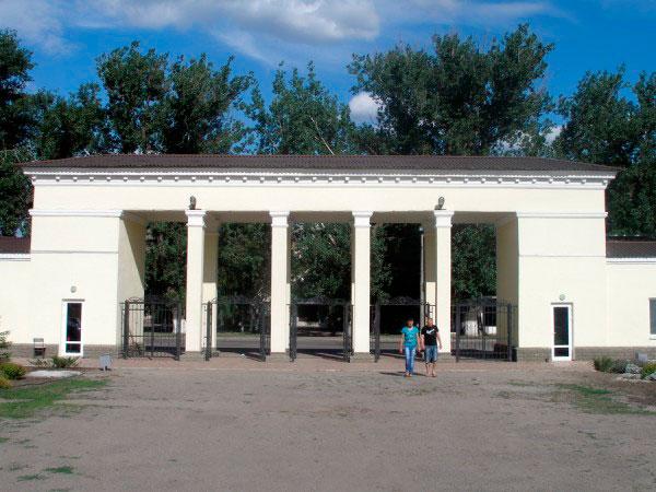 Стадион им. В.И. Ленина. Главный вход.