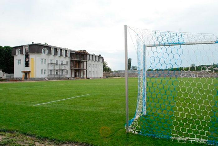 Стадион им. В.И. Ленина. Футбольное поле.