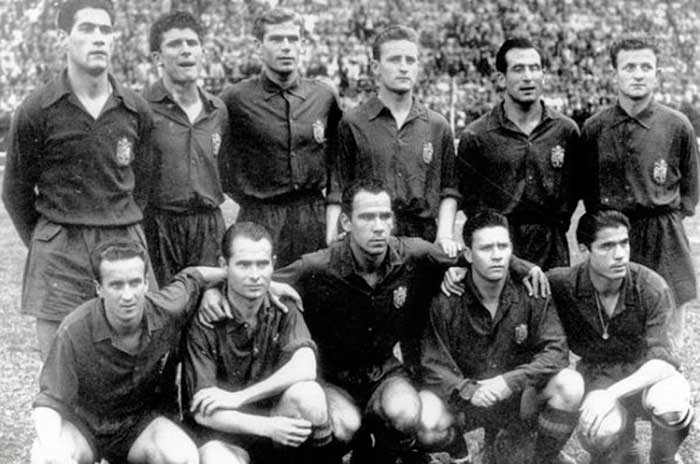 13.07.1950. Бразилия – Испания 6:1. Spain national team