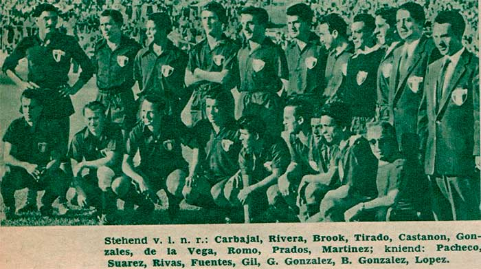 Mexico national football team WC1954