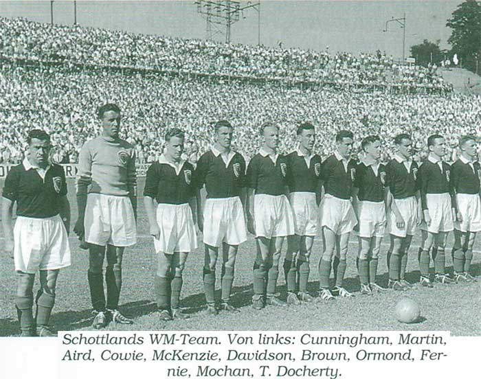 Scotland national football team WC1954