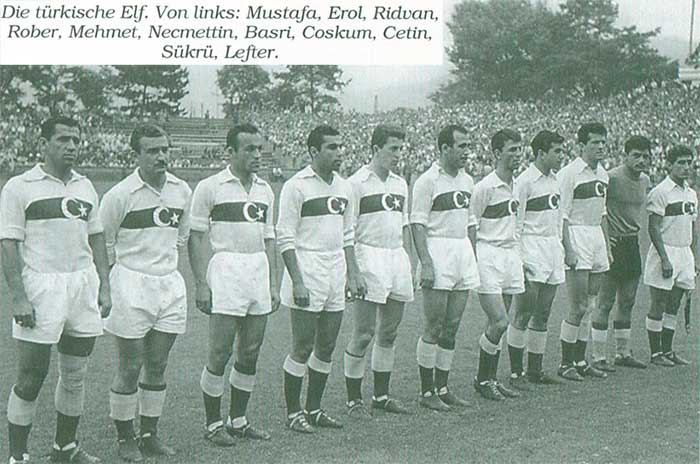Turkey national football team WC1954