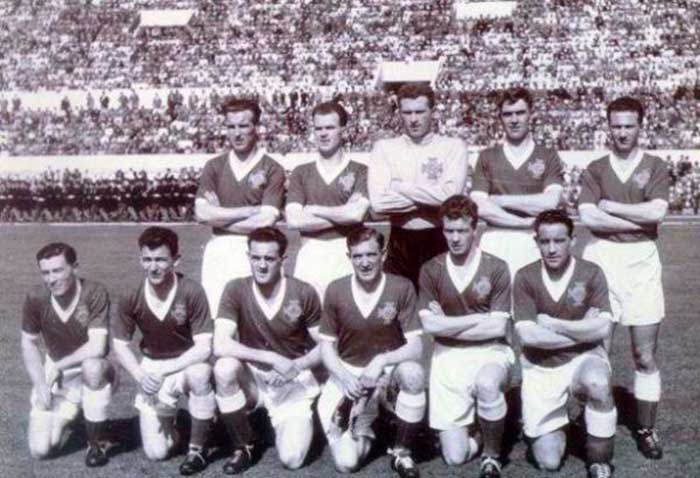 25.04.1957 Италия - Сев. Ирландия. Northern Ireland national team