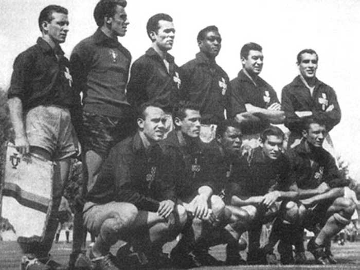 26.05.1957 Португалия - Италия. Portugal national team