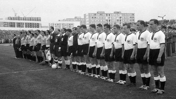 08.06.1958 ФРГ - Аргентина 3:1. West Germany and Argentina national teams
