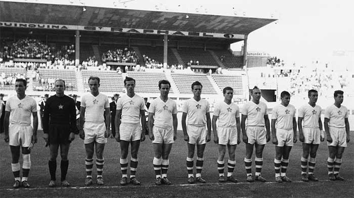 06.07.1960 Czechoslovakia - France 2:0. Czechoslovakia national team