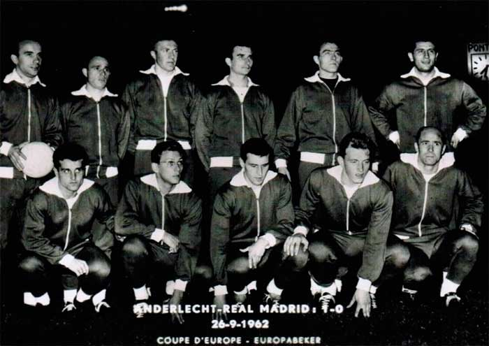 26.09.1962 Anderlecht - Real Madrid 1:0
