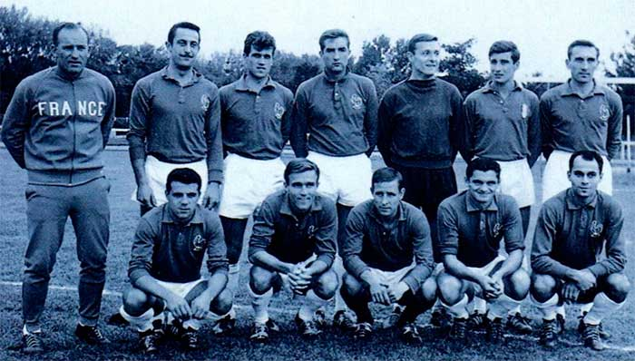 03.10.1962 England - France 1:1. France national team