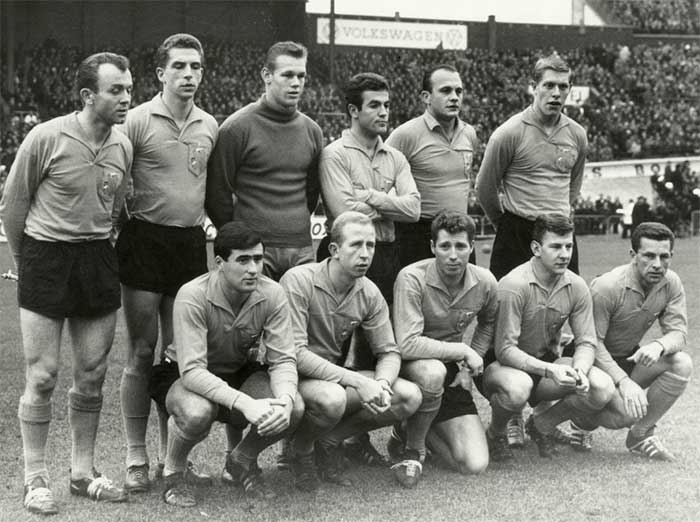11.11.1962 Nederland - Zwitserland 3:1. Nederland national team