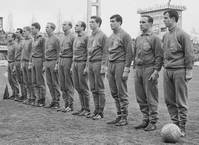 31.03.1963 Switzerland - Netherlands 1:1. Netherlands national team