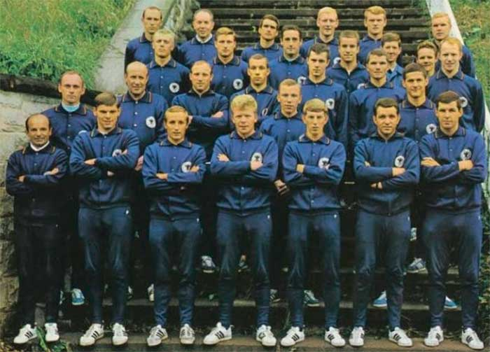 West Germany national team World Cup 1966