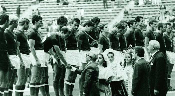 Hungary Olimpik - winner of Olimpiks Games 1968.