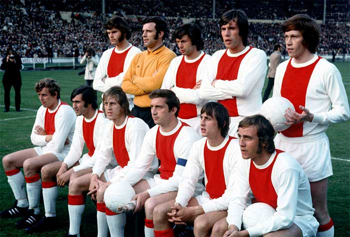 2 juni 1971 Ajax - Panathinaikos 2:0. Ajax