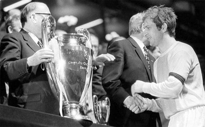 2 juni 1971. Ajax - winner of Champions Cup 1970-1971. Velibor Vasovic