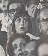 Nice - Barcelona 3:0. Johan Cruyff at the stadium