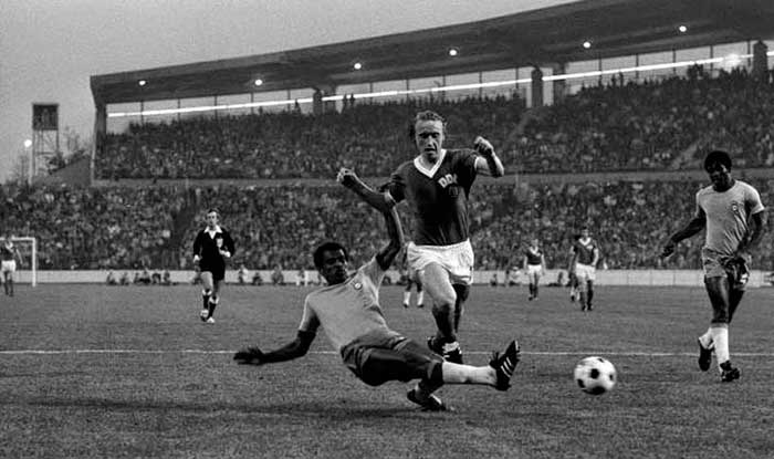 26.06.1974 Brazil - East Germany 1:0. Joachim Streich