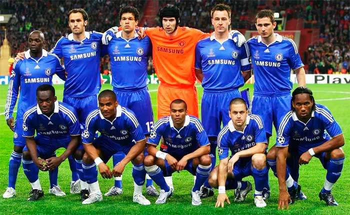FC Chelsea London - finalist of UEFA Champions League 2007-2008.