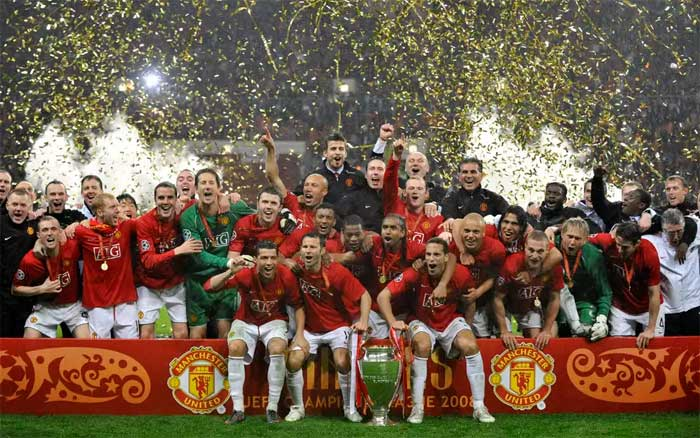 FC Manchester United - winner of UEFA Champions League 2007-2008.