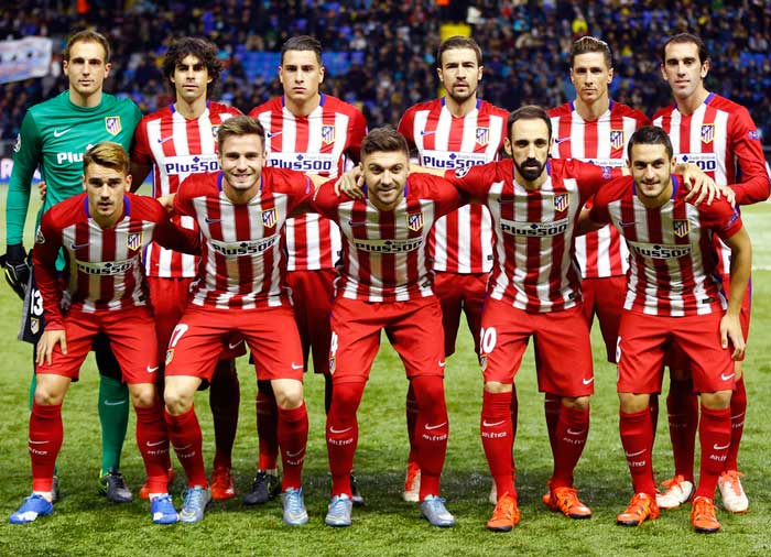 Club Atletico de Madrid - finalist of UEFA Champions League 2015-2016.