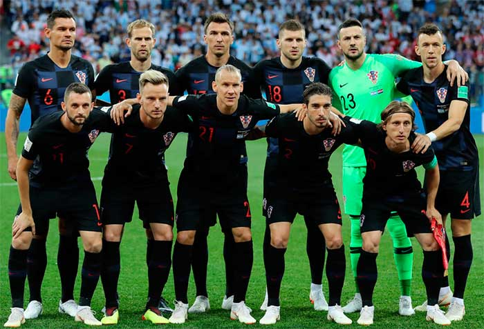 26.06.2018. Croatia team