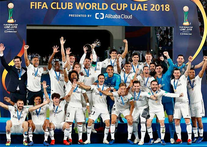 22.12.2018 Real Madrid - Al Ain 4:1. Real Madrid Sуptimo Mundial de Clubes!